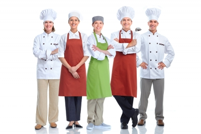 CHEF-WAITERS-MAIDS